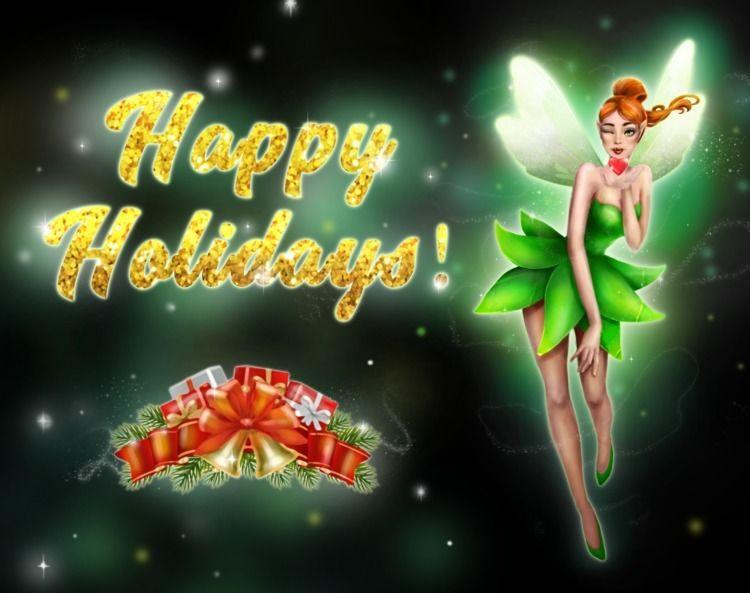Happy Holidays - holidays, christmas - trillian5050 | ello