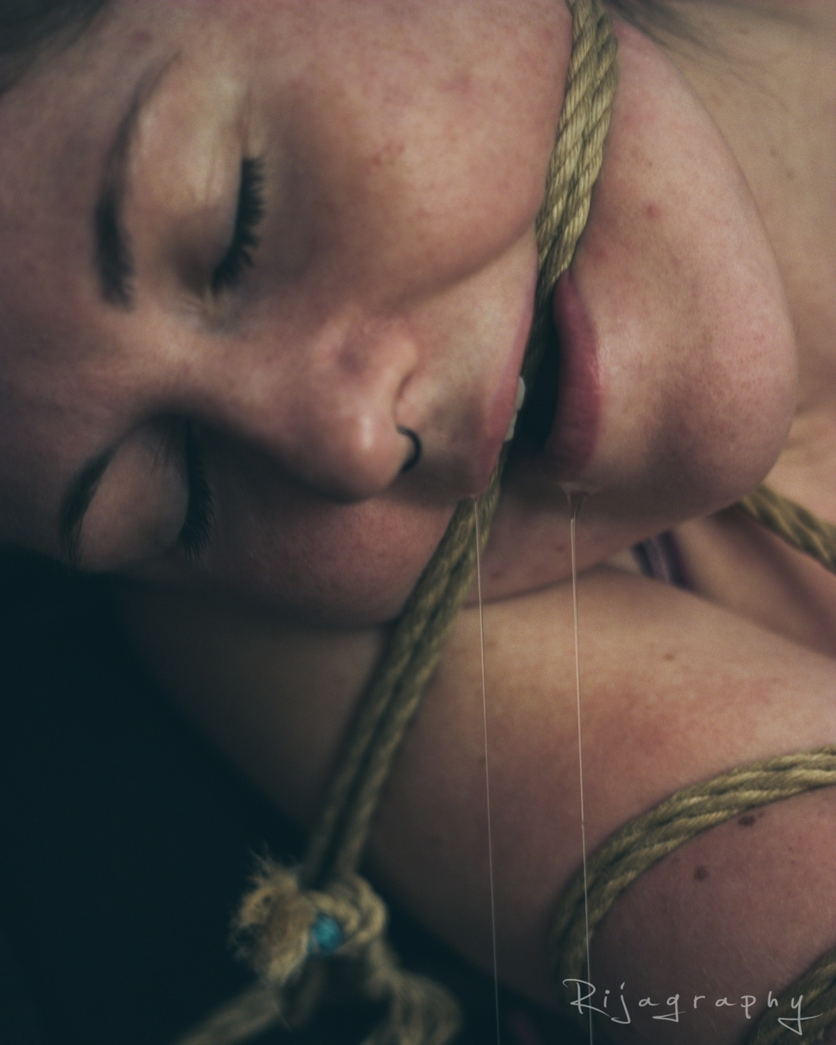 <> model:  - rope, drool, peace - rija_mae | ello