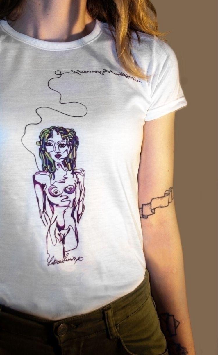 liner - oneliner, print, tshirts - kr-lebeaulemieux   ello