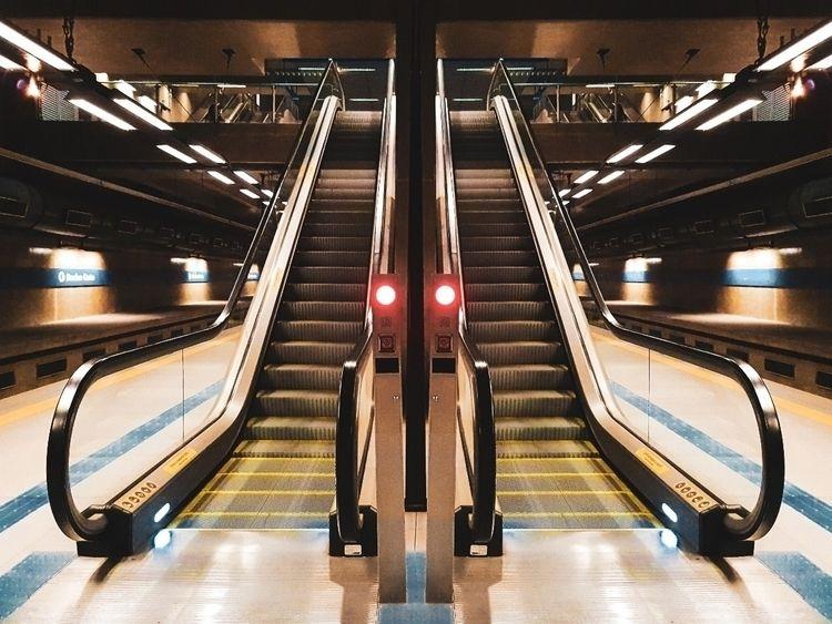 Symmetry - sampa, brazil, subway - felipehelfstein | ello
