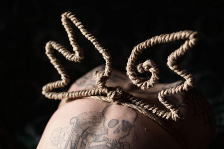 Rope Wings - shibari, shibaribondage - mvpblack | ello