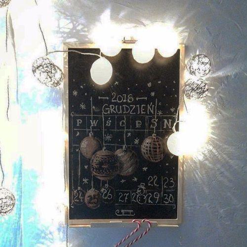 Kalendarz-tablica Świątecznym n - grabatdot | ello