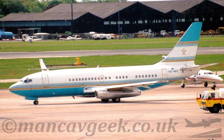 HZ-MIS, Boeing 737-2K5, Sheikh  - mancavgeek   ello
