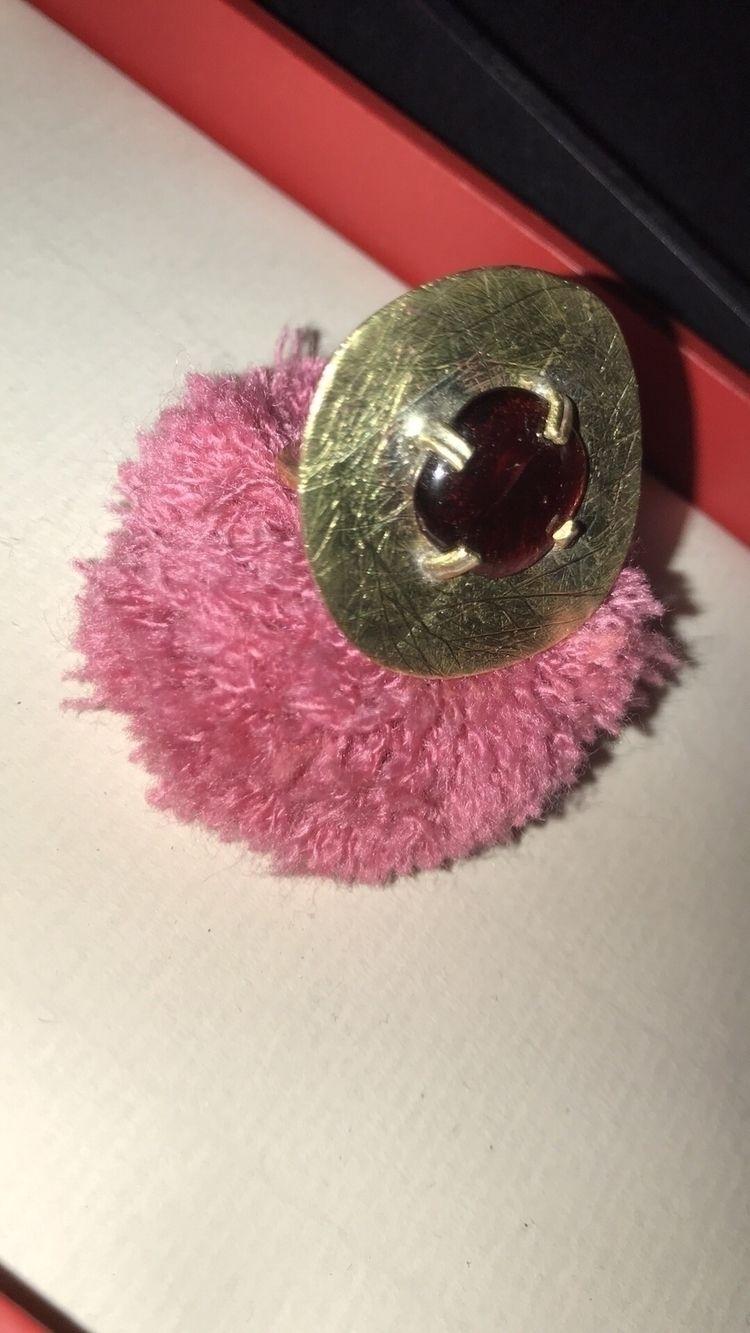 Garnet scratched effect - ellojewelry - mariaelen | ello