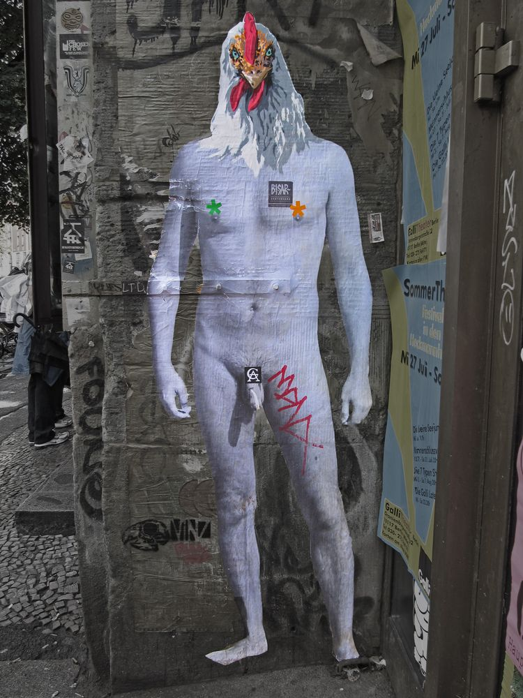 Tacheles, Berlin, Rooster, streetart - alles_banane | ello