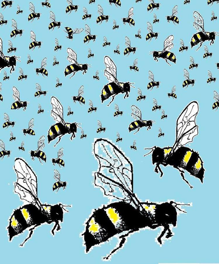 swarm Illustration digitally co - allthingsinky | ello