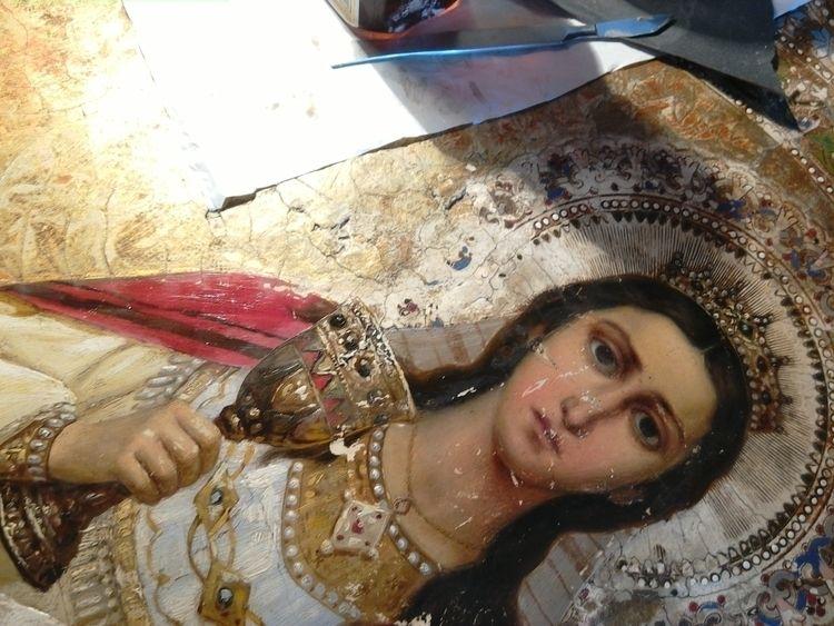 St. Barbara - art, restoration, conservation - constli | ello