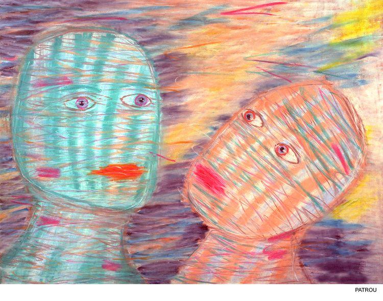 22 30 pastel paper PATROU, Plai - patrou | ello