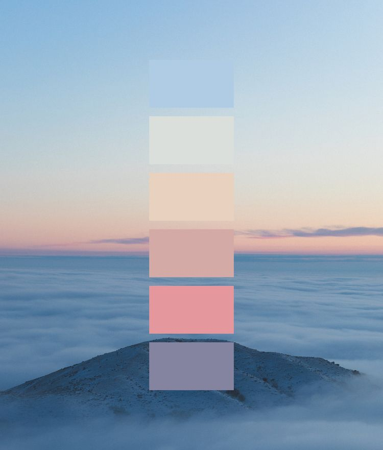 Color Compositions - Sky Palett - matthhew   ello