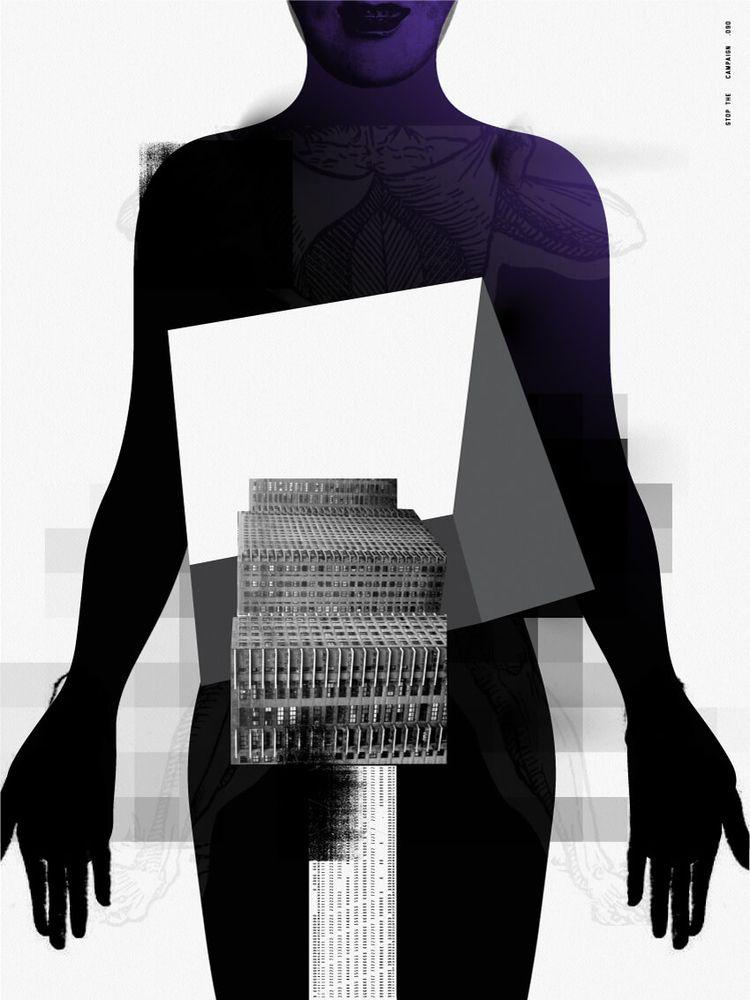 STC - Black, BlackAndWhite, Poster - stop_the_campaign | ello