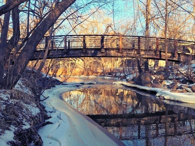 January Spring Minnehaha Creek  - leif_kurth | ello