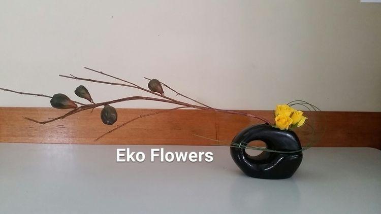 Composition today Happy weekend - ekoflowers | ello