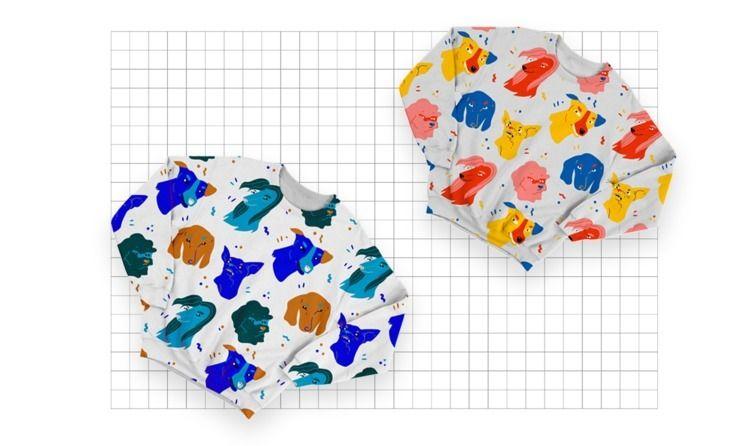 makers, design, pattern, doglovers - kaashamasha   ello