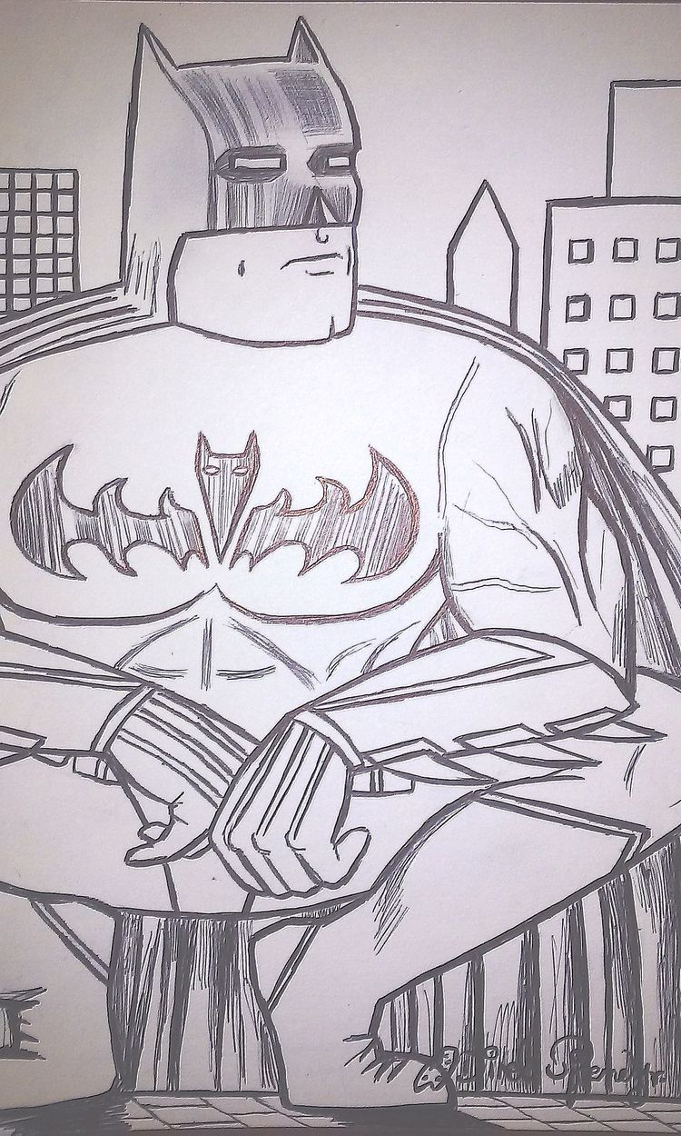 concrete beast (Batman - batman - odinelpierre | ello