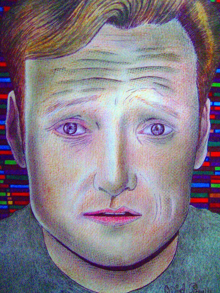 Conan - conanobrien, art, illustration - odinelpierre | ello