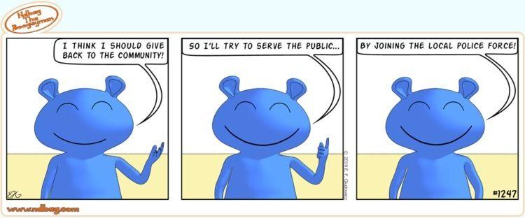 Ndbag giving - cute, service, comic - ndbag | ello