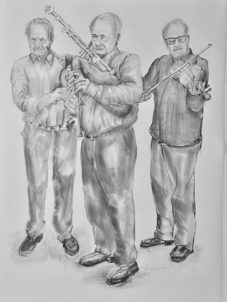 Hubert Boone 2019 Black chalk p - ben-peeters | ello