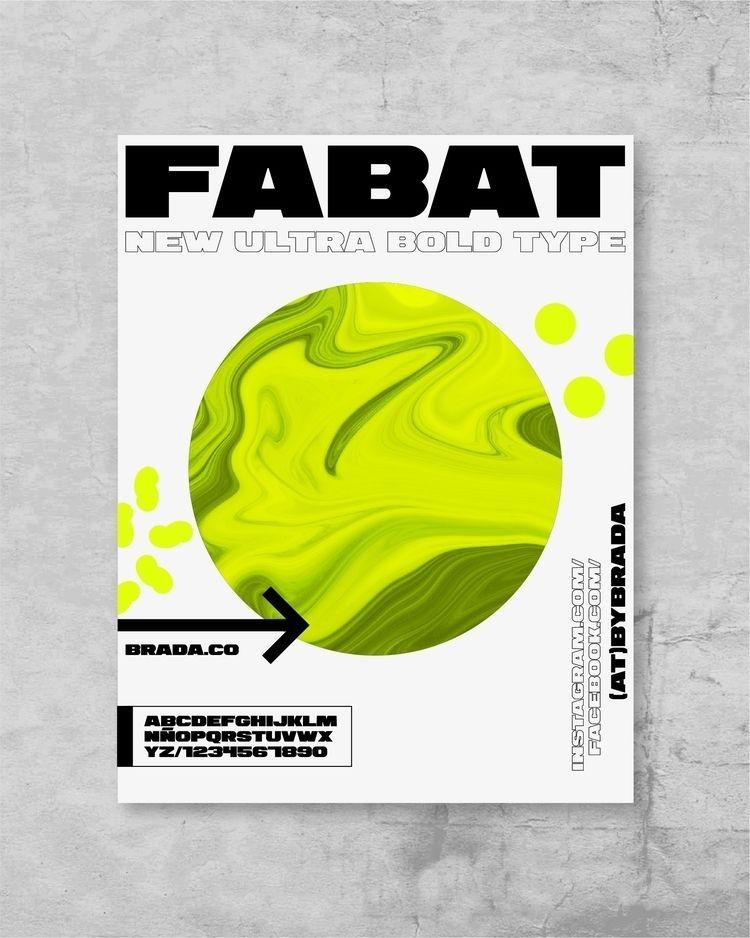 Fabat. Download - design, branding - manuelfcg | ello