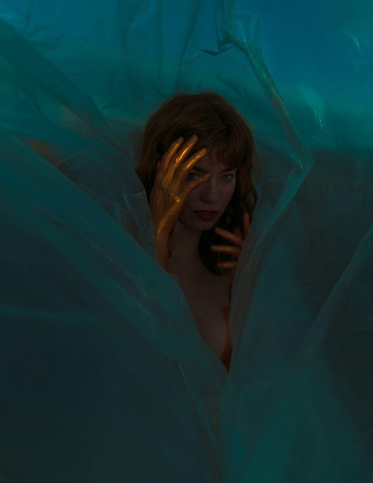 Gold Dusk Woman Naked Magazine  - joellerosen | ello
