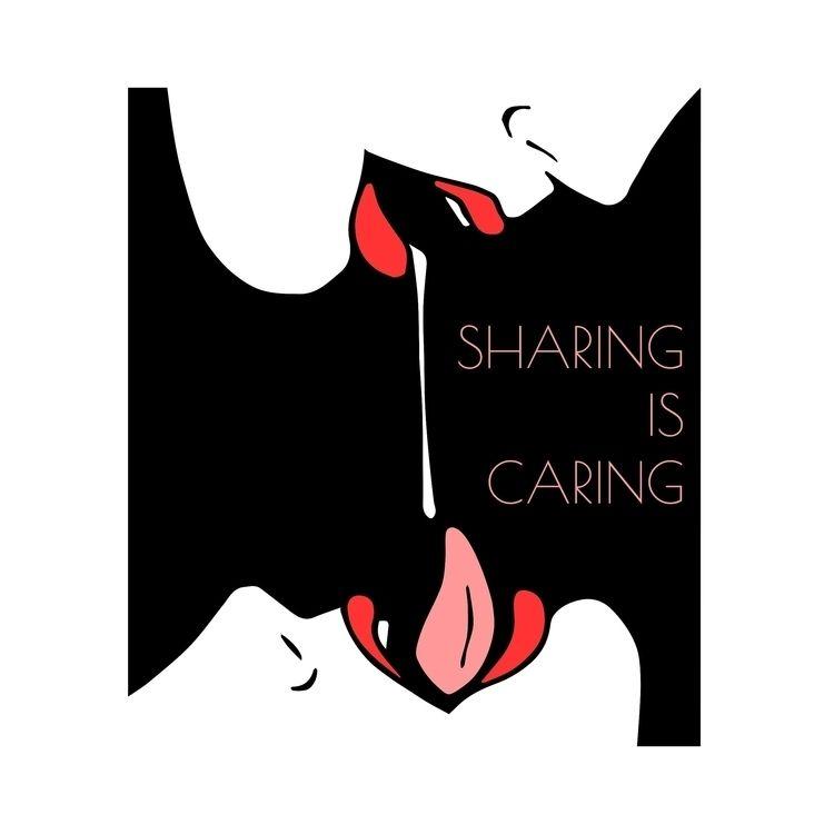 Sharing caring - zzmyxazz, fetishart - zzmyxazz | ello