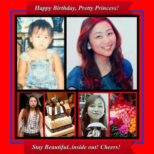 Happy birthday niece, Princess  - vicsimon | ello