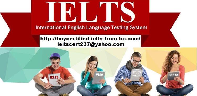 Buy Genuine IELTS Certificate E - certifiedielts | ello
