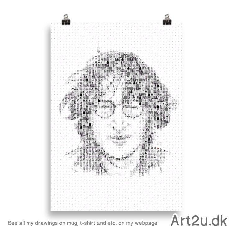Art2u.dk - Mosaic, poster, John - art2u | ello