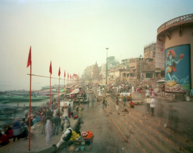 morning ...Dashashwamedh Ghat,  - peterdegraaff | ello