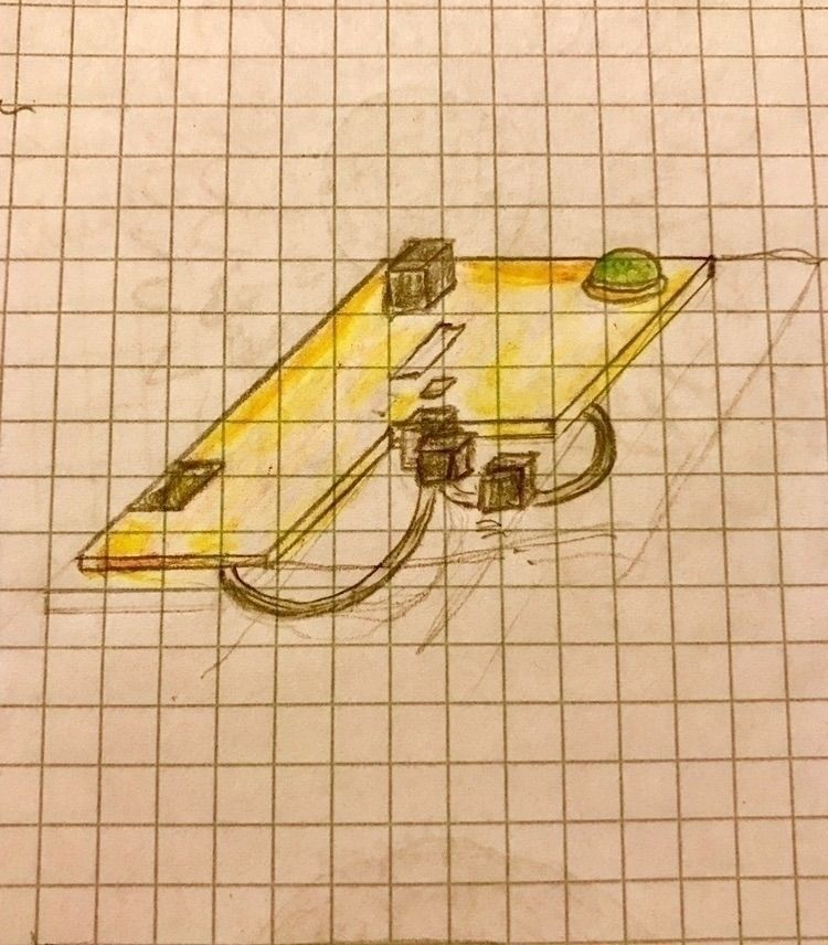 Inspiration: geometrical. Brooc - mariaelen | ello