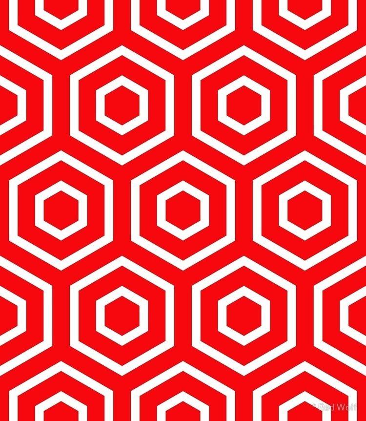 Geometric Pattern: Hexagon Ring - red_wolf | ello