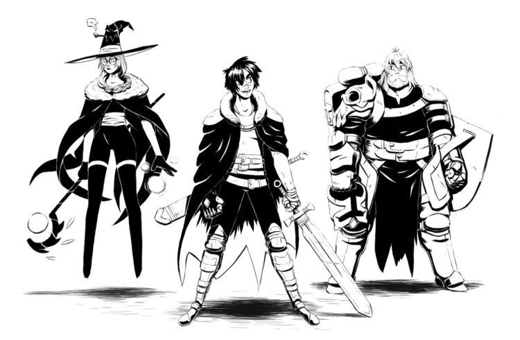 Lvl 78 Gang - charadesign, character_design - supersonic_fury | ello