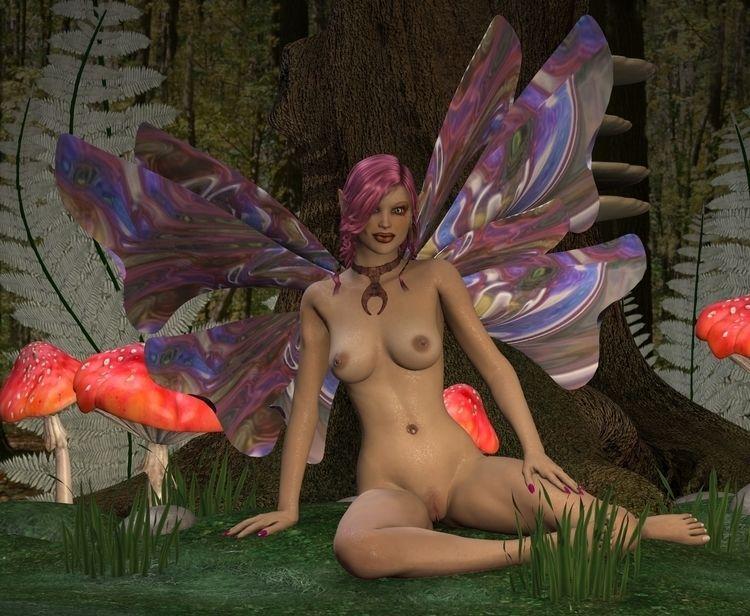 Fairy 01 - 3d, 3d_art, art, girl - thor3d | ello