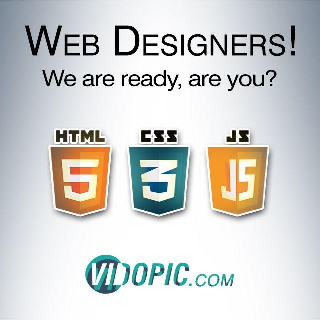 Hey! Web designers... start mar - vidopic   ello