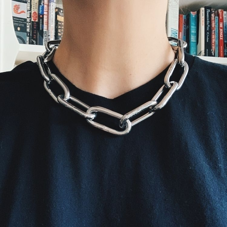 large chain necklace theneoncar - neoncart | ello