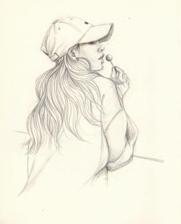 Lolly lollipop - drawing, sketch - j0eyg1rl | ello