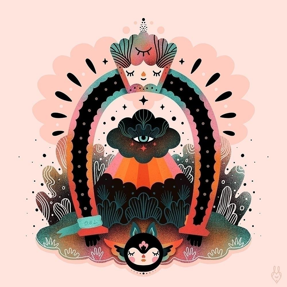 • Horseshoe - illustration, digital - muxxi | ello