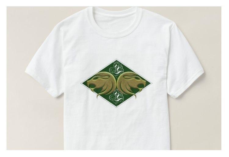 Design Green - Zodiac, Leo, TShirt - mrmartonline | ello