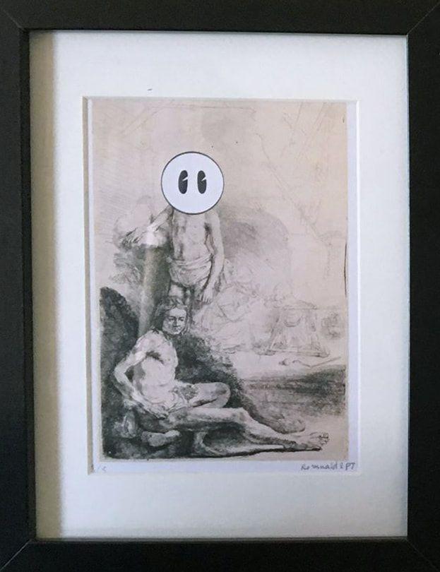 RembrandtBidule - Impression Je - romualdetpj | ello