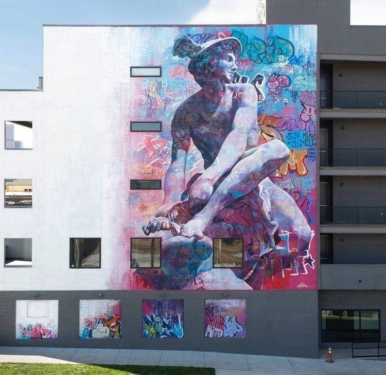 loved good street art! mural ef - midnightjo | ello