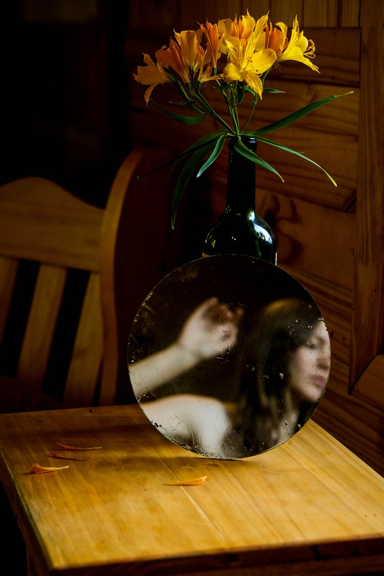 selfportrait, mirror, fujifeed - karenmorgan | ello