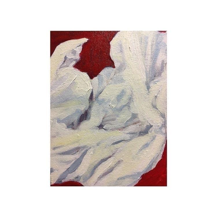 paint, artist, fabric, red, painting - yuliavirko | ello