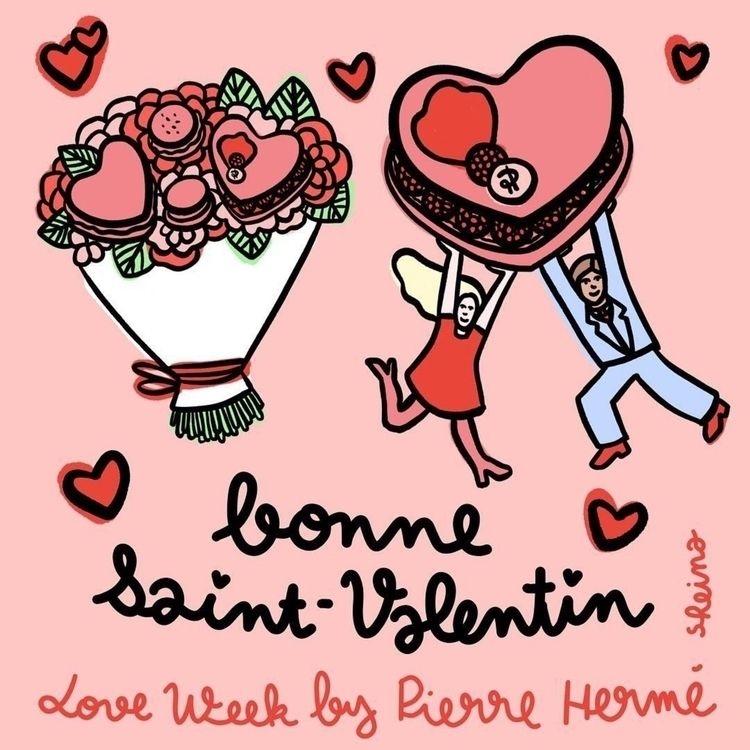 collaboration Pierre Hermé star - sheina-illustration | ello