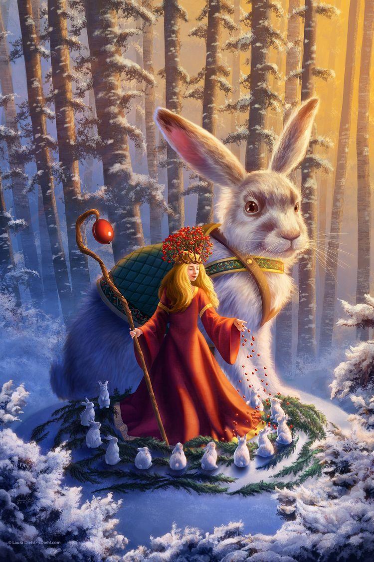 Princess Snowberry explores sno - lauradiehl | ello