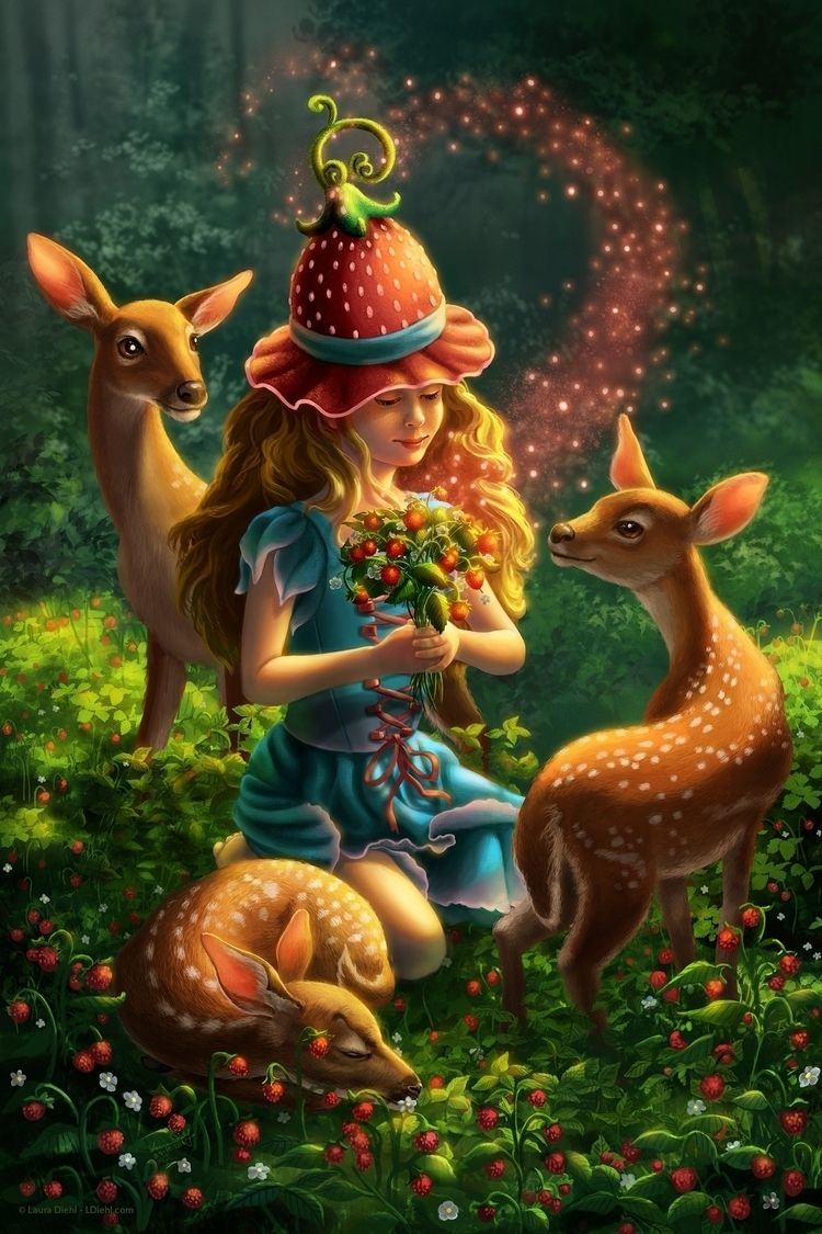 Strawberry Witch serene practic - lauradiehl | ello