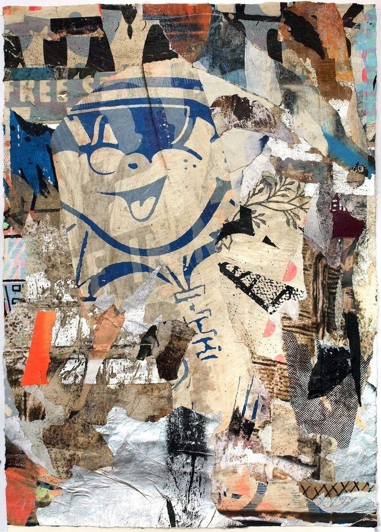 Relic Collage paper - collage, intertextuality - fullom | ello
