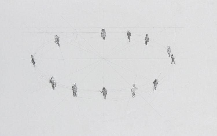 Kreis 23 30 cm 2017 Johannes Da - johannes_davies | ello