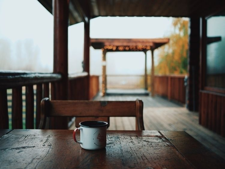 cabin, coffee, pnw, scottchanning - scottchanning | ello