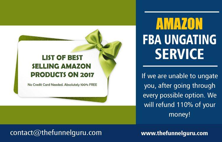 Amazon FBA Ungating Service Top - amazontopicalungating | ello