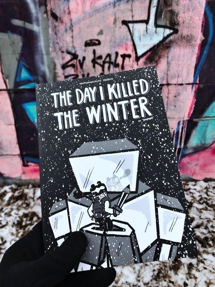 "comic book Day Killed Winter"" 2 - timrobot | ello"