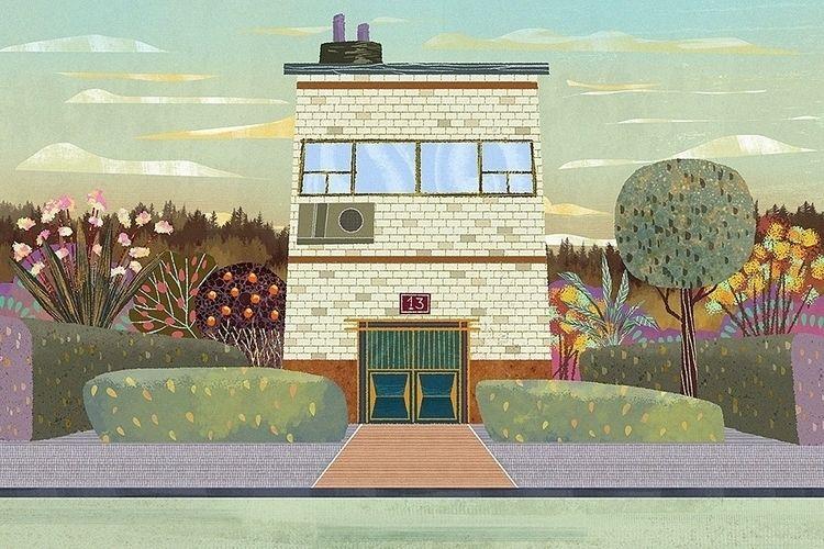 Illustration, cartoon, background - ramonegr | ello